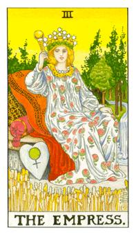 Empress tarot card